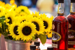 Sunflowers and Maple Syrup