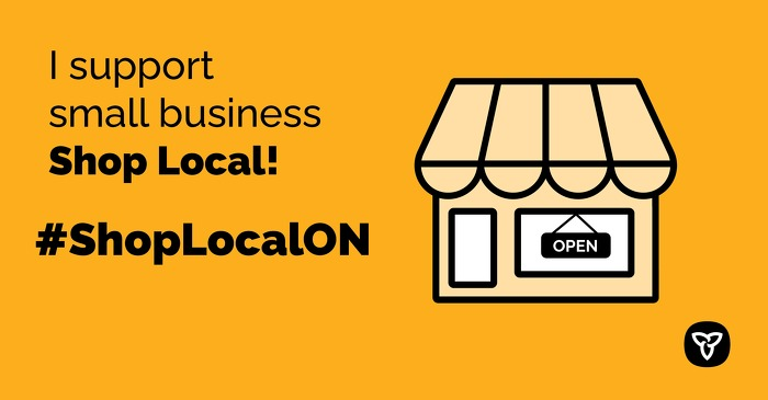 Province of Ontario Shop Local Campaign